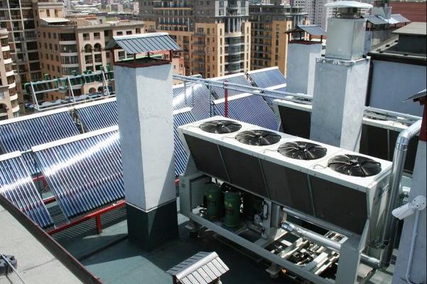 Лизинг систем отопления и охлаждения